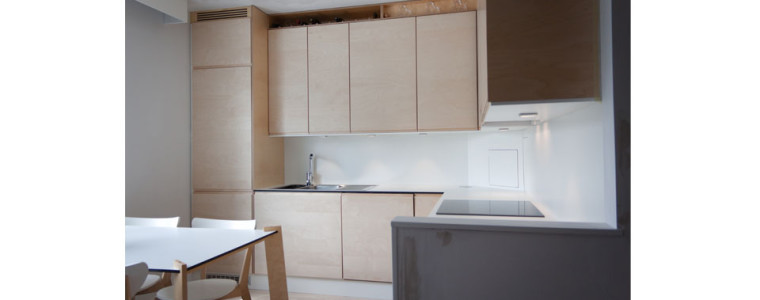 Renovation of a small kitchen
