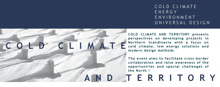 Cold Climate and Territory symposium