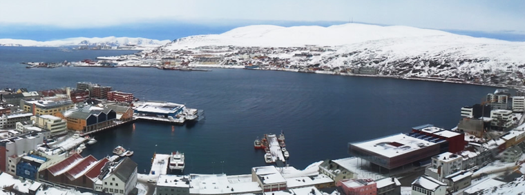 Cold Climate & Territory at Hammerfest Norway